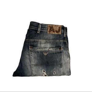 ARMANI JEANS Distressed Style!